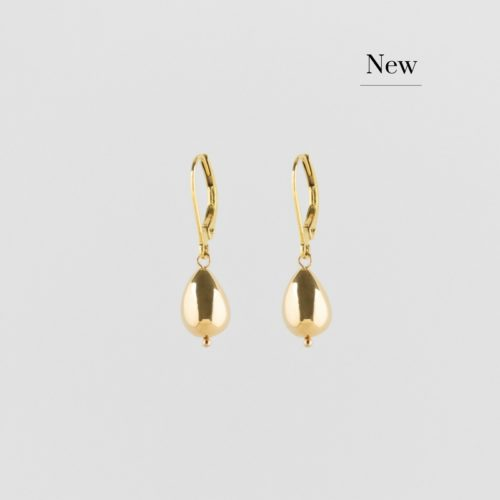 images of golden classic raindrop earrings new