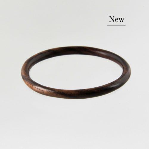 Image of dark wooden bangle new