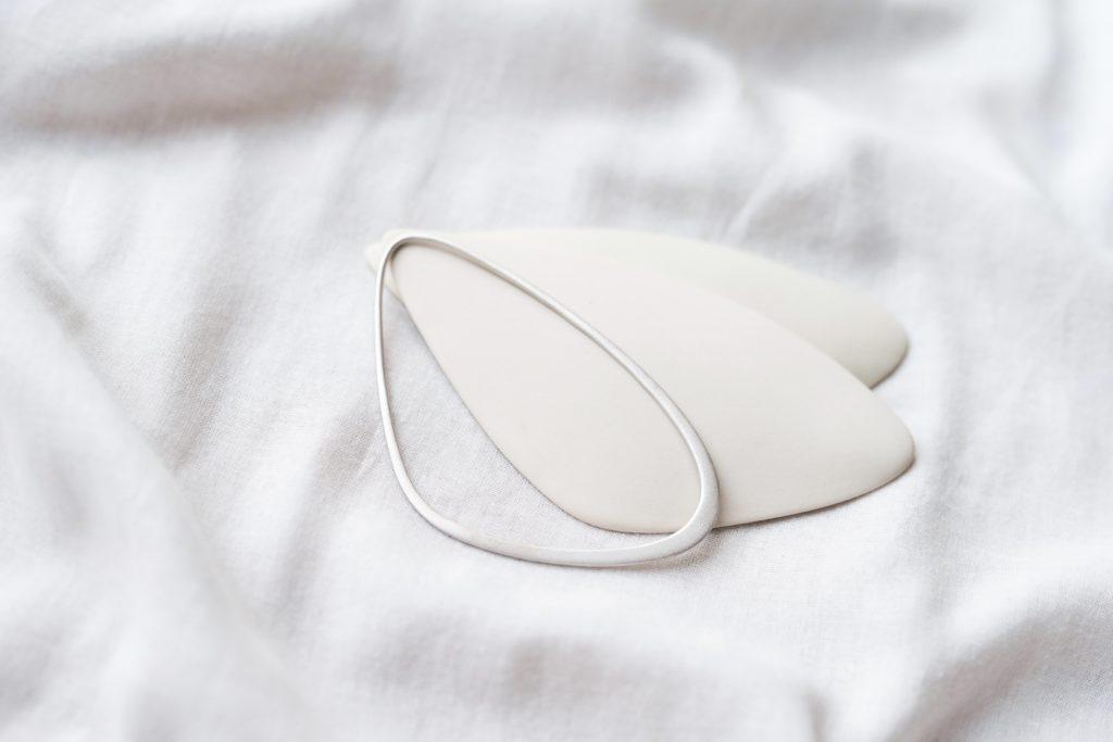 larger sizes sustainable ethical bridal silver bracelet style photo