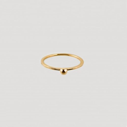 gold sustainable ethical conscious bridal wildberry ring
