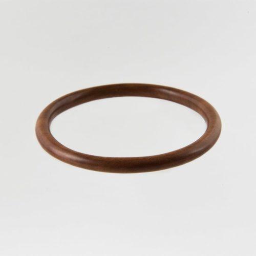 light wooden sustainable ethical conscious bridal sawo wood bangle bracelet