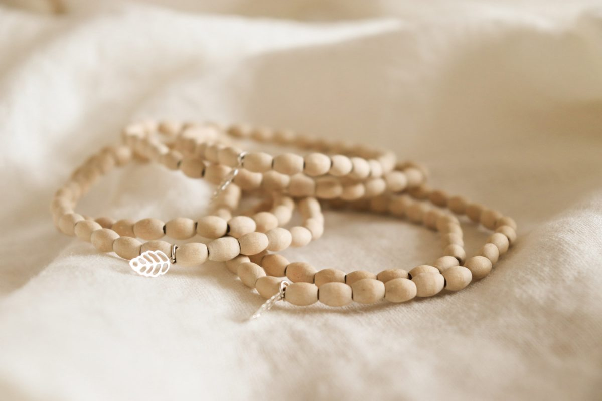 sustainable gift guide organic bracelets